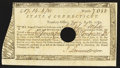 Colonial Notes:Connecticut, Connecticut Fiscal Paper Treasury Office Very Fine-Extremely Fine.....