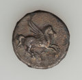Ancients:Ancient Lots  , Ancients: AKARNANIA. Anactorion - Leucas. Lot of three (3) ARstaters.... (Total: 3 coins)
