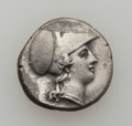 Ancients:Greek, Ancients: SICILY. Syracuse. Ca. 304-289 BC. AR stater (6.60 gm)....