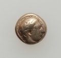 Ancients:Ancient Lots  , Ancients: LESBOS-IONIA. Lot of four (4) electrum fractions. ... (Total: 4 coins)