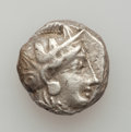 Ancients:Greek, Ancients: ATTICA. Athens. Ca. 393-350 BC. Lot of two (2)transitional tetradrachms. ... (Total: 2 coins)