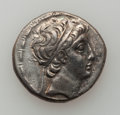 Ancients:Ancient Lots  , Ancients: SELEUCID KINGDOM. Demetrius I and II. Lot of 2 ARtetradrachms.... (Total: 2 coins)