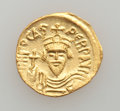Ancients:Byzantine, Ancients: Phocas (AD 602-610). AV solidus (4.41 gm)....