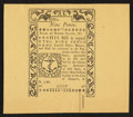Colonial Notes:Rhode Island, Reprint Rhode Island May 1786 9d New.. ...