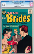 Silver Age (1956-1969):Romance, True Brides' Experiences #16 File Copy (Harvey, 1956) CGC NM- 9.2Cream to off-white pages....