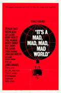 """Movie Posters:Comedy, It's a Mad, Mad, Mad, Mad World (United Artists, 1963). One Sheet(27"""" X 41"""") Style B.. ..."""