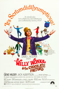 """Movie Posters:Fantasy, Willy Wonka & the Chocolate Factory (Paramount, 1971). One Sheet (27"""" X 41"""").. ..."""