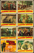 "Movie Posters:Action, Allegheny Uprising (RKO, 1939). Lobby Card Set of 8 (11"" X 14"")..... (Total: 8 Items)"