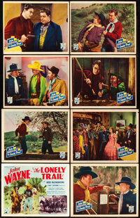 "The Lonely Trail (Republic, 1936). Lobby Card Set of 8 (11"" X 14""). ... (Total: 8 Items)"