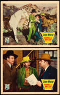 """Movie Posters:Western, King of the Pecos (Republic, 1936). Lobby Cards (2) (11"""" X 14"""").. ... (Total: 2 Items)"""