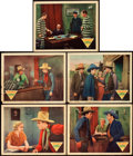 "Movie Posters:Western, Rainbow Valley (Monogram, 1935). Lobby Cards (5) (11"" X 14"").. ...(Total: 5 Items)"