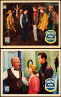 "Movie Posters:Western, Winds of the Wasteland (Republic, 1936). Lobby Cards (2) (11"" X14"").. ... (Total: 2 Items)"