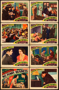"""Movie Posters:Comedy, No Funny Business (FPI, 1934). Lobby Card Set of 8 (11"""" X 14"""")..... (Total: 8 Items)"""