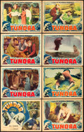 "Movie Posters:Adventure, Tundra (Burroughs-Tarzan-Enterprise, 1936). Lobby Card Set of 8(11"" X 14"").. ... (Total: 8 Items)"