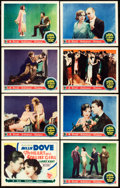 """Movie Posters:Comedy, The Heart of a Follies Girl (First National, 1928). Lobby Card Setof 8 (11"""" X 14"""").. ... (Total: 8 Items)"""
