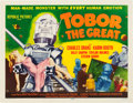 "Movie Posters:Science Fiction, Tobor the Great (Republic, 1954). Half Sheet (22"" X 28"") Style A....."