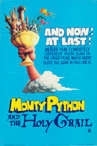 "Monty Python and the Holy Grail (Cinema 5, 1975). British Double Crown (20"" X 30"")"