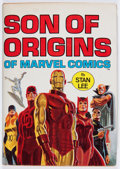 Books:Superhero, Son of Origins - First Edition Hardcover (Simon and Schuster, 1975) Condition: Average FN....