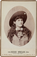 Photography:Cabinet Photos, Cabinet Photo of Annie Oakley. ...