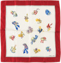 "Luxury Accessories:Accessories, Hermes Red, White, and Blue ""Petits Chapeaux,"" by Hugo Grygkar SilkScarf . ..."