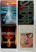 Books:Fiction, [Modern Fiction]. Group of Four First American Edition Books, One Signed. Various, 1987-1999. Destiny is signed. Overall... (Total: 4 Items)