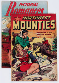 Assorted Golden Age Comics - Matt Baker Group (Various Publishers, 1949-50).... (Total: 2 Comic Books)