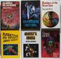 Books:Horror & Supernatural, [Arkham House]. Group of Six First Edition Books Published byArkham House, Two Signed. 1981-1993. Watchers at the Strai...(Total: 6 Items)