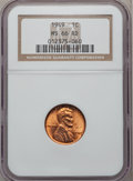 Lincoln Cents: , 1949 1C MS66 Red NGC. NGC Census: (475/36). PCGS Population(343/8). Mintage: 217,775,008. Numismedia Wsl. Price for proble...