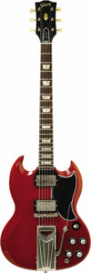 Musical Instruments:Electric Guitars, 1961 Gibson Les Paul SG. Serial number 34573. In 1961 Gibson changed the body style of the single cutaway Les Paul to the st... (Total: 1 Item)