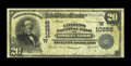 National Bank Notes:Oklahoma, Broken Arrow, OK - $20 1902 Date Back Fr. 646 The Citizens NB Ch. # (W)10255. This is another highlight from the magnifi...