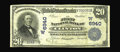 National Bank Notes:Oklahoma, Clinton, OK - $20 1902 Plain Back Fr. 652 The First NB Ch. # (W)6940. A mere two large notes in the census for this Cust...