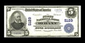 National Bank Notes:Oklahoma, Durant, OK - $5 1902 Plain Back Fr. 606 The First NB Ch. # 5129. While not a rare bank, few large examples from here are...