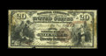 National Bank Notes:Pennsylvania, Allentown, PA - $20 1882 Brown Back Fr. 493 The Second NB Ch. #373. This note was recently discovered in a wall of an o...