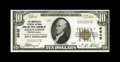 National Bank Notes:Pennsylvania, Allentown, PA - $10 1929 Ty. 1 The Merchants-Citizens NB & TCCh. # 6645. Dark inks, embossing, and original paper rippl...