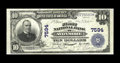 National Bank Notes:Pennsylvania, Avonmore, PA - $10 1902 Plain Back Fr. 624 The First NB Ch. # 7594.This is the highest graded large note in the census ...