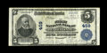 National Bank Notes:Pennsylvania, Bellefonte, PA - $5 1902 Plain Back Fr. 598 The First NB Ch. # 459.A solid Very Fine from the only issuer in this c...