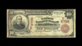 National Bank Notes:Pennsylvania, Braddock, PA - $10 1902 Red Seal Fr. 613 The Union NB Ch. # (E)6796. This note from a short lived bank is unique to the ...