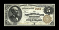 National Bank Notes:Pennsylvania, Brookville, PA - $5 1882 Brown Back Fr. 467 The NB of BrookvilleCh. # 3051. While this is hardly a rare bank, the note ...