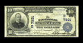 National Bank Notes:Pennsylvania, Danielsville, PA - $10 1902 Plain Back Fr. 624 The Danielsville NBCh. # (E)7931. This issue from this Northampton Count...