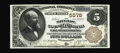 National Bank Notes:Pennsylvania, East Stroudsburg, PA - $5 1882 Brown Back Fr. 477 The Monroe County NB Ch. # 5578. A lovely serial number 1 Brown Back w...