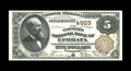 National Bank Notes:Pennsylvania, Ephrata, PA - $5 1882 Brown Back Fr. 473 The Farmers NB Ch. # 4923.This lovely Brown Back is a significant note in many...