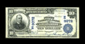 National Bank Notes:Pennsylvania, Goldsboro, PA - $10 1902 Plain Back Fr. 626 The First NB Ch. # (E)9072. This addition to the census brings the large siz...