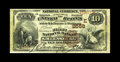 National Bank Notes:Pennsylvania, Greensburg, PA - $10 1882 Brown Back Fr. 490 The First NB Ch. # (E)2558. This Vice Presidentially signed $10 Brown Back ...