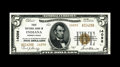 National Bank Notes:Pennsylvania, Indiana, PA - $5 1929 Ty. 2 First NB Ch. # 14098. 14000 seriescharter numbers are an always popular collecting specialt...
