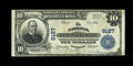 National Bank Notes:Pennsylvania, Kittanning, PA - $10 1902 Plain Back Fr. 634 The NationalKittanning Bank Ch. # 6127. A solid Very Fine from this A...