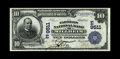 National Bank Notes:Pennsylvania, Millheim, PA - $10 1902 Date Back Fr. 618 The Farmers NB Ch. #(E)9511. A well centered and especially presentable Ext...
