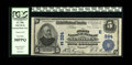 National Bank Notes:Pennsylvania, Newtown, PA - $5 1902 Plain Back Fr. 598 The First NB Ch. # (E)324. Certified as PCGS Very Fine 30PPQ and displaying...