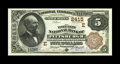 National Bank Notes:Pennsylvania, Pittsburgh, PA - $5 1882 Brown Back Fr. 477 The Fort Pitt NB Ch. #(E)2415. This is a lovely example from a truly scarce...