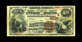 National Bank Notes:Pennsylvania, Pittsburgh, PA - $10 1882 Brown Back Fr. 490 The Bank ofPittsburgh, National Assoc Ch. # (E)5225. A nice Brown Back tha...