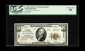 National Bank Notes:Pennsylvania, Pittsburgh, PA - $10 1929 Ty. 2 The Mellon NB Ch. # 6301. A well margined $10 Type 2 bearing serial A000001. PCGS Choi...